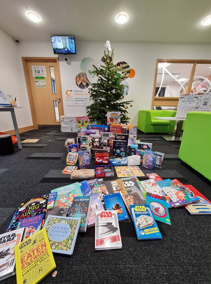 Books, toys and gifts for Chestnut Tree House